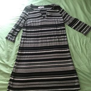 stripped Emma and Michelle dress